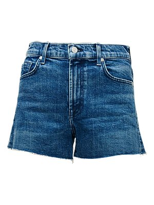 7 For All Mankind high-rise cut-off denim shorts