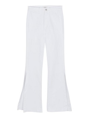 7 For All Mankind high-rise high-slit flare jeans