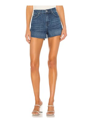 7 For All Mankind high rise short with cut off hem. - size 24 (also