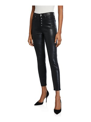 7 For All Mankind High-Rise Skinny Ankle Jeans