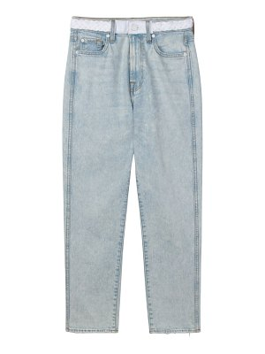 7 For All Mankind high-rise straight cropped jeans