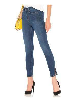7 For All Mankind High Waist Aubrey with Side Splits