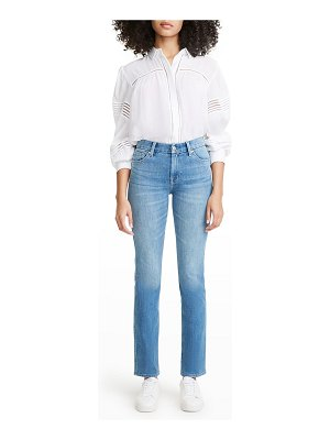 7 For All Mankind Kimmie Straight-Leg Jeans