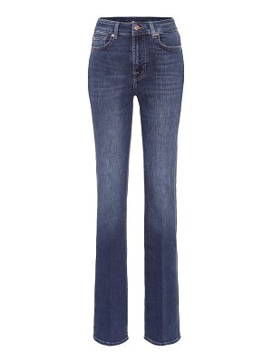 7 For All Mankind lisha high-rise flared jeans