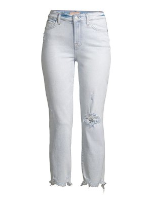 7 For All Mankind luxe edie distressed cropped jeans
