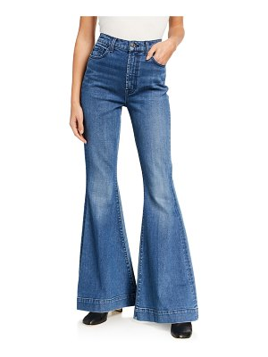 7 For All Mankind Mega Flare High-Rise Jeans