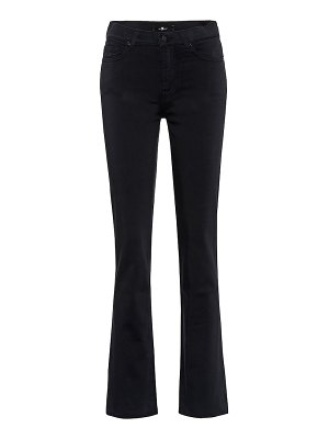 7 For All Mankind mid-rise straight jeans