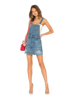 7 For All Mankind Mini Skirt Overall Dress