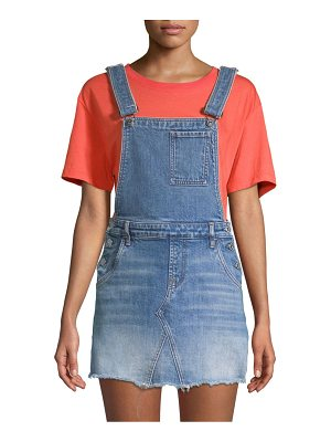 7 For All Mankind mini skirt overalls