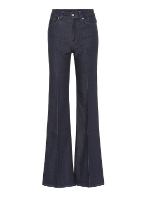 7 For All Mankind minimal high-rise flared jeans