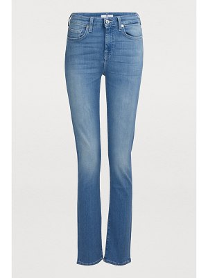 7 For All Mankind Pyper high-waisted jeans