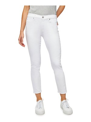 7 For All Mankind Roxanne Ankle Skinny Jeans with Star Embroidery