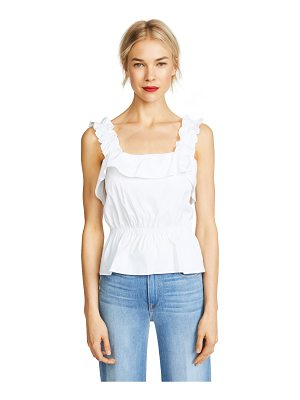 7 For All Mankind ruffle top