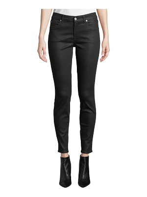 7 For All Mankind The Ankle Skinny Jeans - Coated