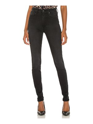 7 For All Mankind the high waist skinny