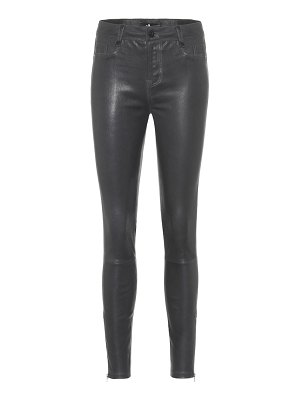 7 For All Mankind the skinny leather pants