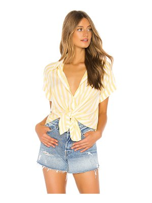 7 For All Mankind tie front shirt