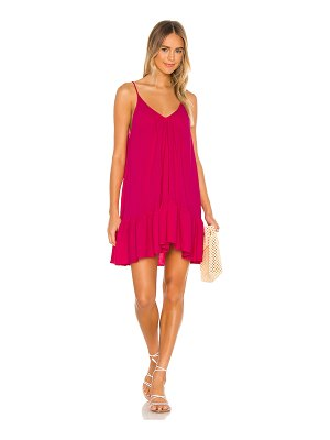 9 Seed st tropez ruffle mini dress