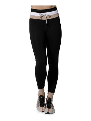 925 Fit Welcome Ohm Striped High Waist Pants