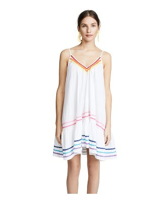 9seed st. tropez ruffle mini cover up