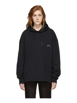 A-cold-wall* black basic bracket hoodie