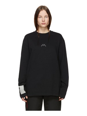 A-cold-wall* black bracket long sleeve t-shirt