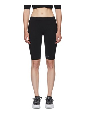 A-cold-wall* black legging shorts