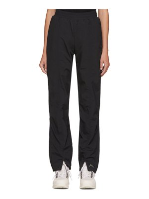 A-cold-wall* black pleat cuff trousers