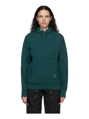 A-cold-wall* blue contour line hoodie