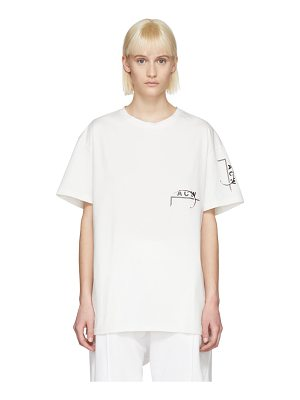 A-cold-wall* Exclusive White Logo T-shirt