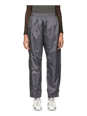 A-cold-wall* grey heavyweight technical storm lounge pants