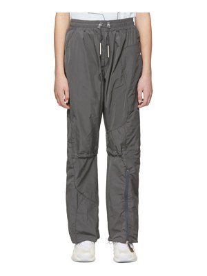 A-cold-wall* grey puffer tie lounge pants