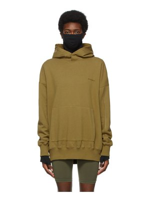 A-cold-wall* khaki organic dissection hoodie