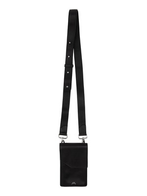 A-cold-wall* leather crossbody bag