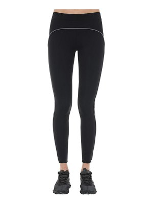 A-cold-wall* Logo printed stretch leggings