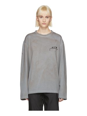A-cold-wall* Long Sleeve 17 Leavers T-shirt