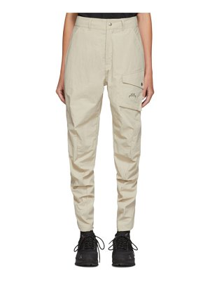 A-cold-wall* off- curve trousers