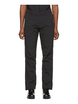 A-cold-wall* rhombus badge trousers