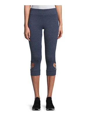 A. MARC NY Cropped Cut-Out Leggings