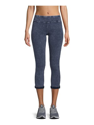 A. MARC NY Straight Textured Leggings