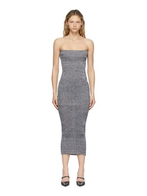 a. roege hove grey tube midi dress