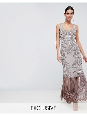 A Star Is Born Maxi Dress with Placement Embellishment
