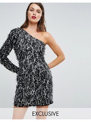 A Star Is Born one shoulder mini dress