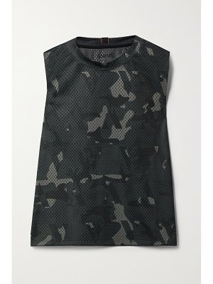 AARMY alpha camouflage-print mesh tank