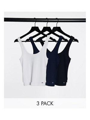 Abercrombie & Fitch 3-pack tank top in multi