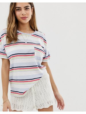 Abercrombie & Fitch deep scoop pocket t-shirt