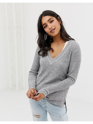 Abercrombie & Fitch drapey cozy top