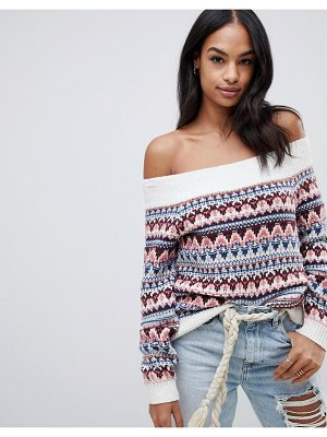 Abercrombie & Fitch fairisle sweater