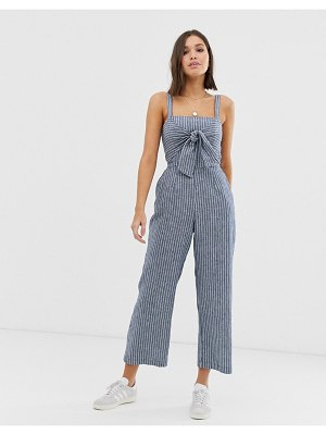 Abercrombie & Fitch jumpsuit with tie front