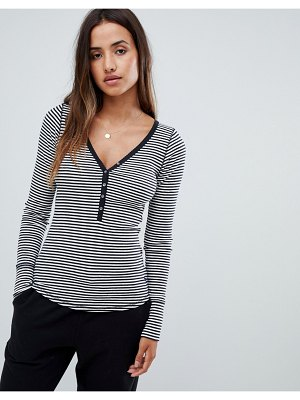 Abercrombie & Fitch long sleeve henley top